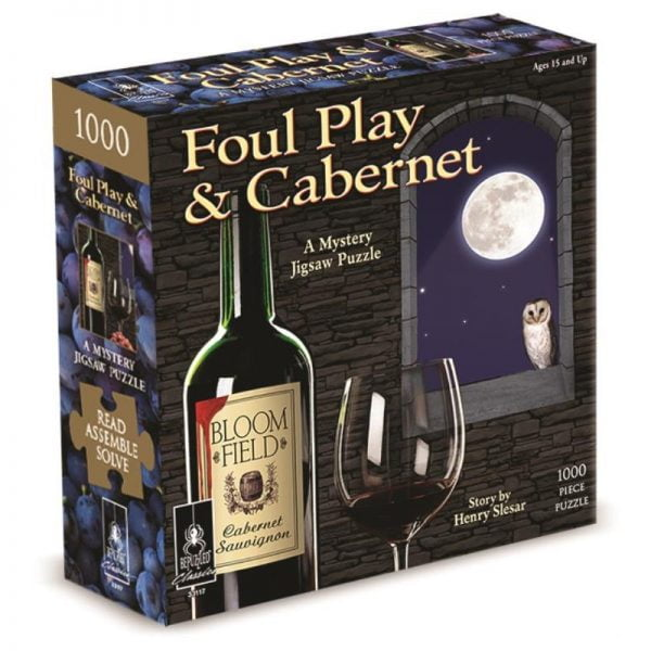 Foul Play & Cabernet Bepuzzled 1000 Piece Puzzle