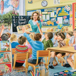 Occupations III TheTeacher 1000pc Holdson Jigsaw Puzzle