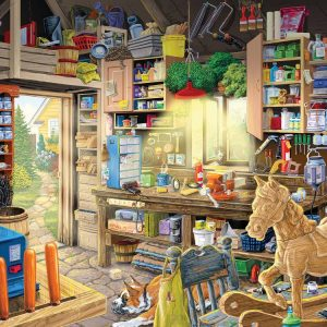 Papa's Toolshed 550PC Jigsaw Puzzles