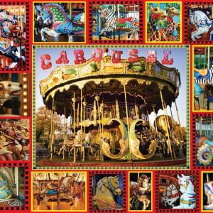 Round and Round 1000pc Suns Out Jigsaw Puzzle