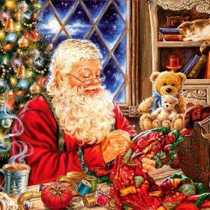 Santa Sew Sweet 1000pc Jigsaw Puzzles