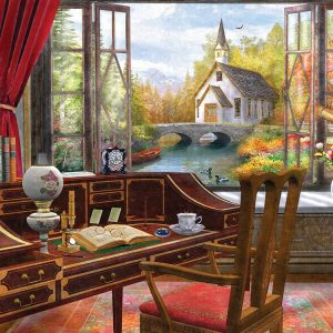 Jigsaw Puzzles Study View 550PC