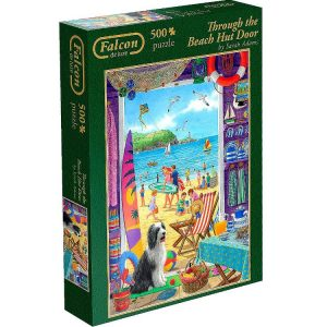 Through the beach Door Jigsaw puzzles