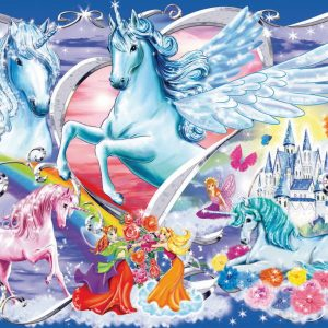 Amazing Unicorns Glitter Puzzle