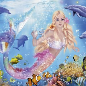 Blissful Mermaids Jigsaw Puzzle 200pc
