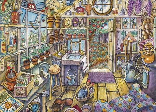 Cosy Potting Shed 300pc Jigsaw Puzzle