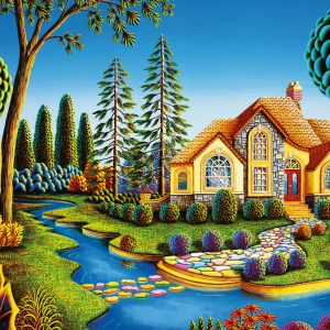 Cottage Dream 300pc Jigsaw Puzzle