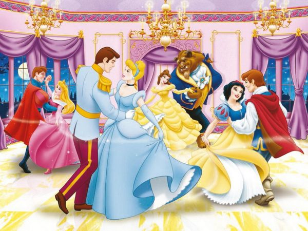 Disney Dancing Princess 300PC Jigsaw Puzzle