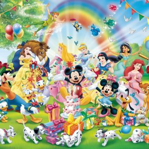 Disney Mickey's Birthday 1000pc Jigsaw Puzzle