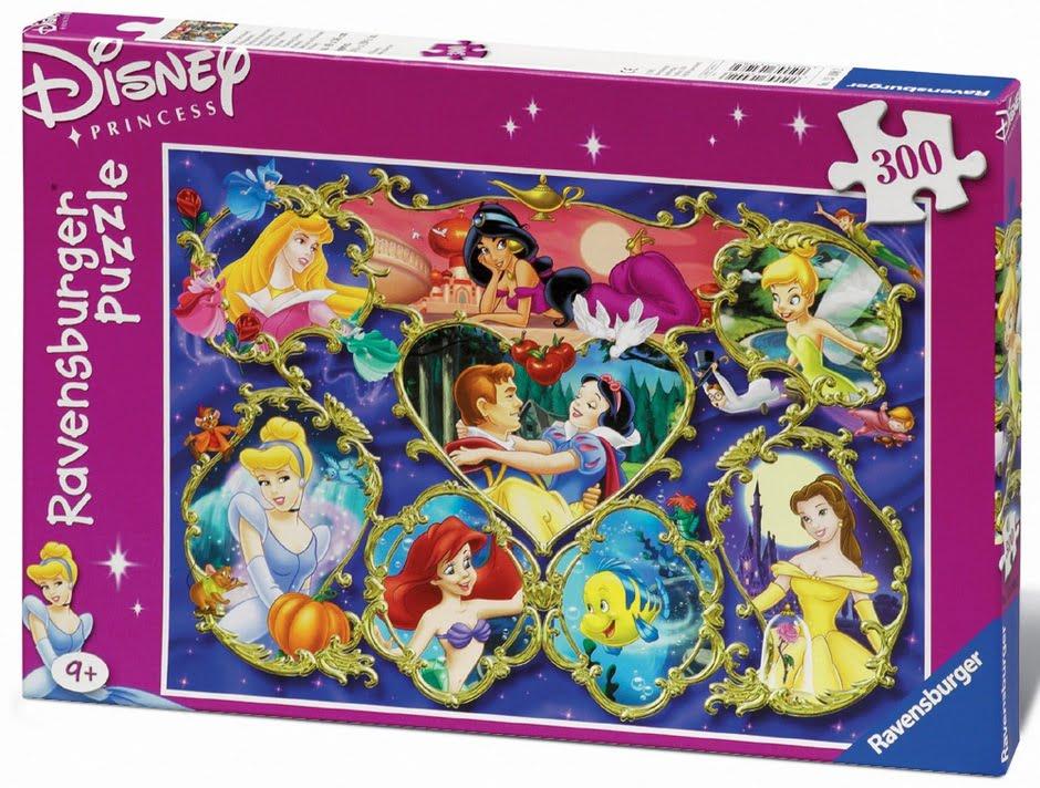 Disney Princess Gallery 300pc Jigsaw Puzzle