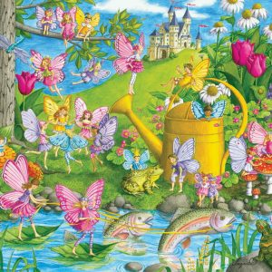 Fairy Playland 100pc Jigsaw Puzzle