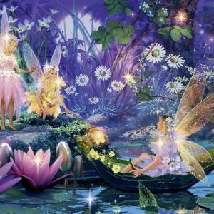 Fairy with Butterflies Jigsaw Puzzle 500pc