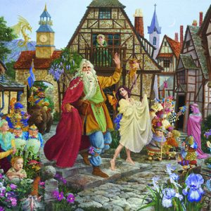 Feats of the Imagination The Return Of The FableMaker 1000pc Holdson Jigsaw Puzzle