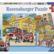 Fire Brigade Run Jigsaw Puzzle 3x49pc