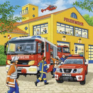 Fire Brigade Run Jigsaw Puzzle 3x49pc