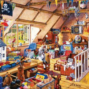 Grandparents Attic 1000pc Jigsaw Puzzle