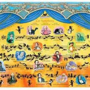 Hartmann, Cat Symphony 2000pc Jigsaw Puzzles Australia