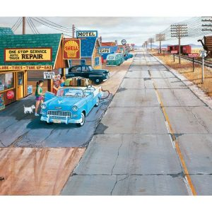 Historic Route 66 Jigsaw Puzzles