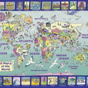 Looking at the World Jigsaw Puzzle 300pc
