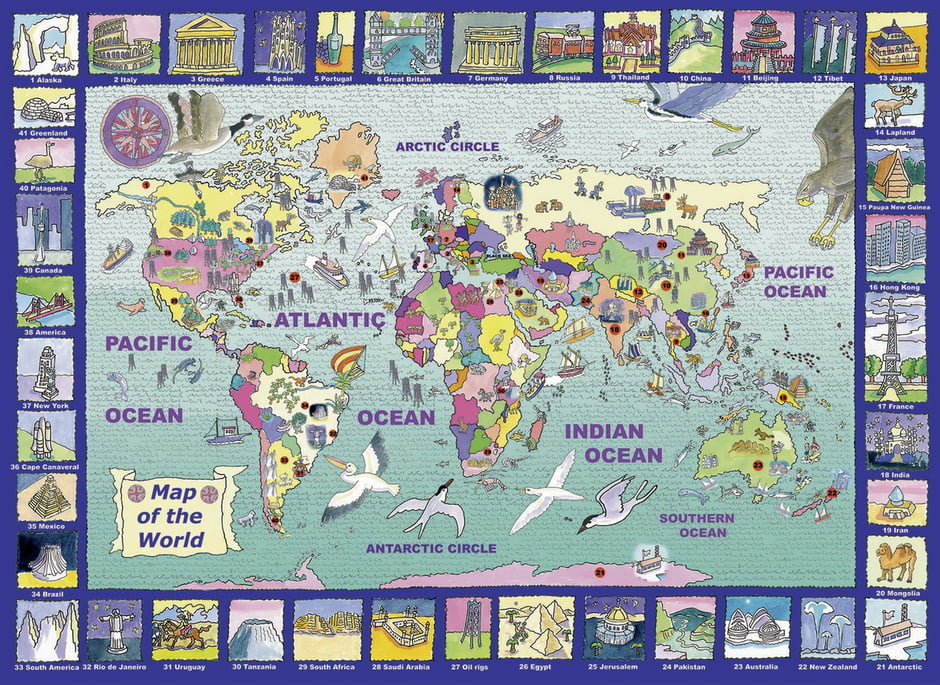 Looking at the world jigsaw puzzle 300pc puzzle palace australia looking at the world jigsaw puzzle 300pc gumiabroncs Image collections