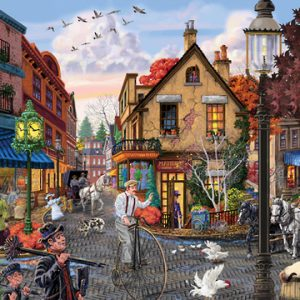 Main Streets Matildas Dress Shop Holdson 500pc Jigsaw Puzzle