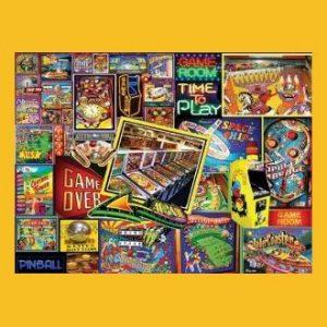 Pinball Wizard 1000p Jigsaw Puzzle