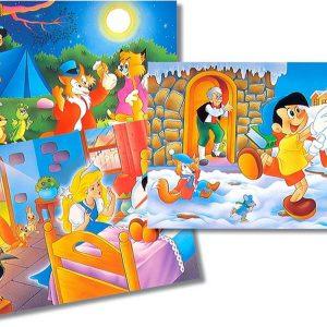 Pinocchio 3x26pc Jigsaw Puzzles