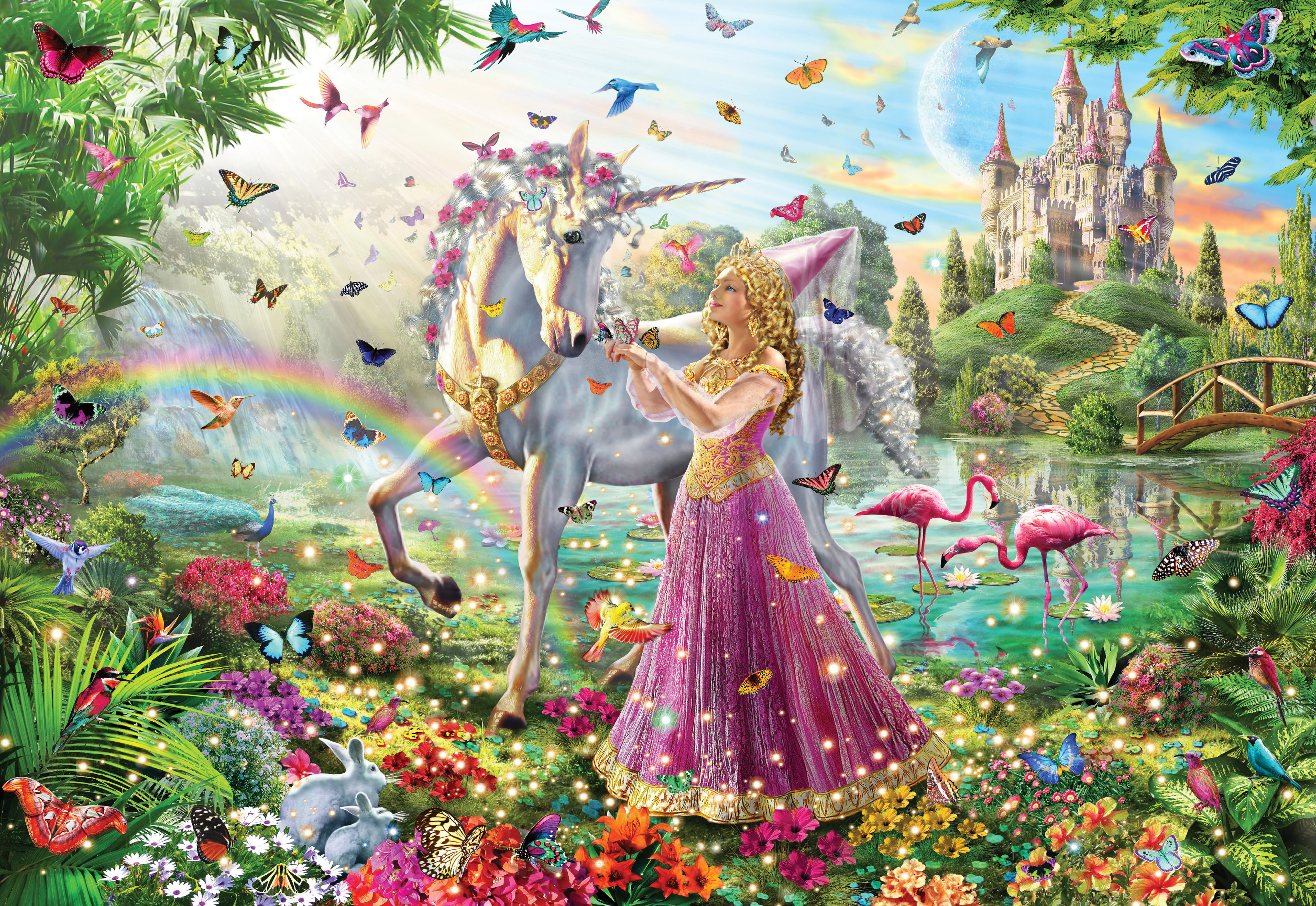 Gallery Princess Unicorn 300pc Jigsaw Puzzle on Number 10 Puzzle
