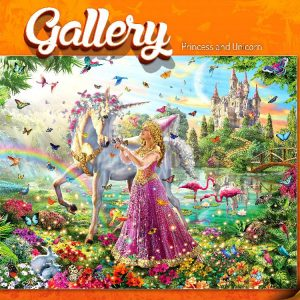 Princess & Unicorn 300 PC Jigsaw puzzle