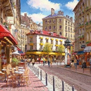 Quaint Shops 500pc Jigsaw Puzzle