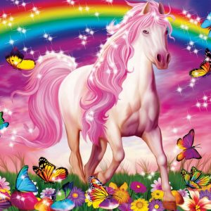 Horse Dream Glitter 100pc Jigsaw Puzzle