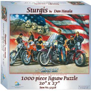 Sturgis 1000 Piece Jigsaw Puzzle - Sunsout