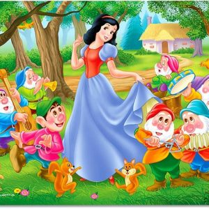 Snow White & 7 Dwarfs Childrens Jigsaw Puzzles