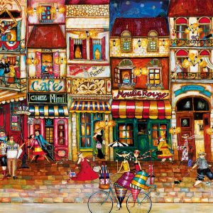 Streets of France Jigsaw Puzzle 1000pc