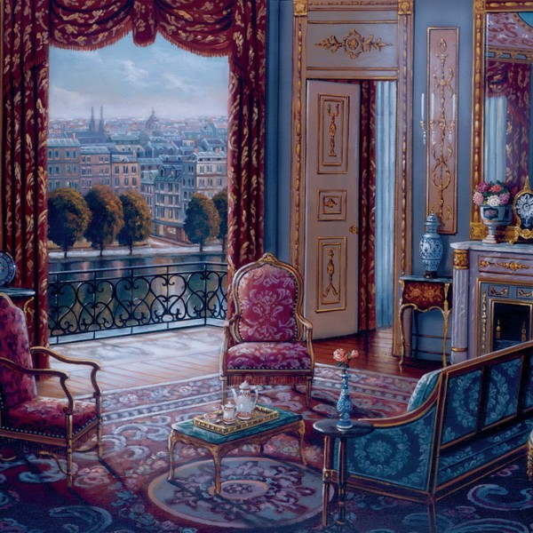 The Sitting Room Large Format 300pc Jigsaw Puzzle