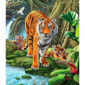 Tiger Two 500pc Jigsaw Puzzles