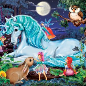 Unicorns World 100pc Jigsaw Puzzle