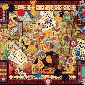 Vintage Games Jigsaw Puzzle 1000pc