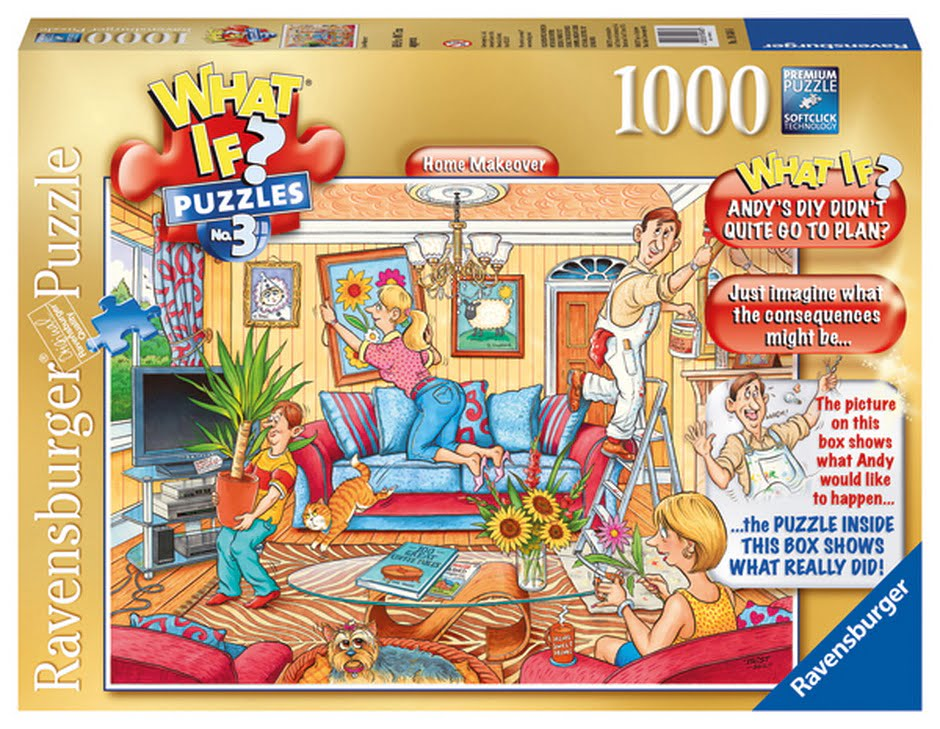 What If No 3 Home Makeover Jigsaw Puzzle 1000pc
