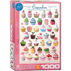 cupcakes 1000pc Jigsaw Puzzles Australia