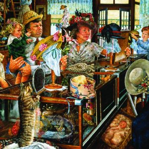 the millinery shop 1000pc Susan Brabeau