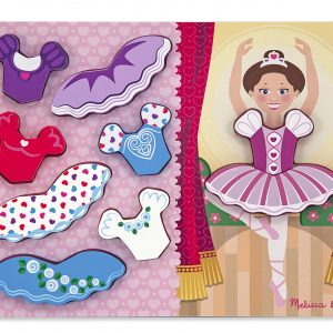 Ballerina Dress-Up 9 PC Chunky Jigsaw Puzzle