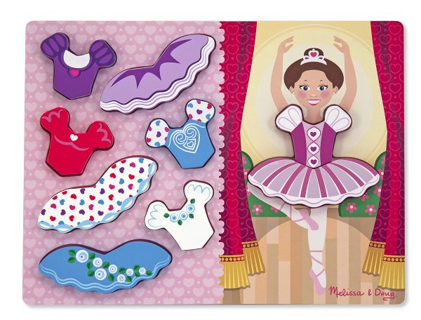 Ballerina Dress-Up 9 PC Chunky Jigsaw Puzzle