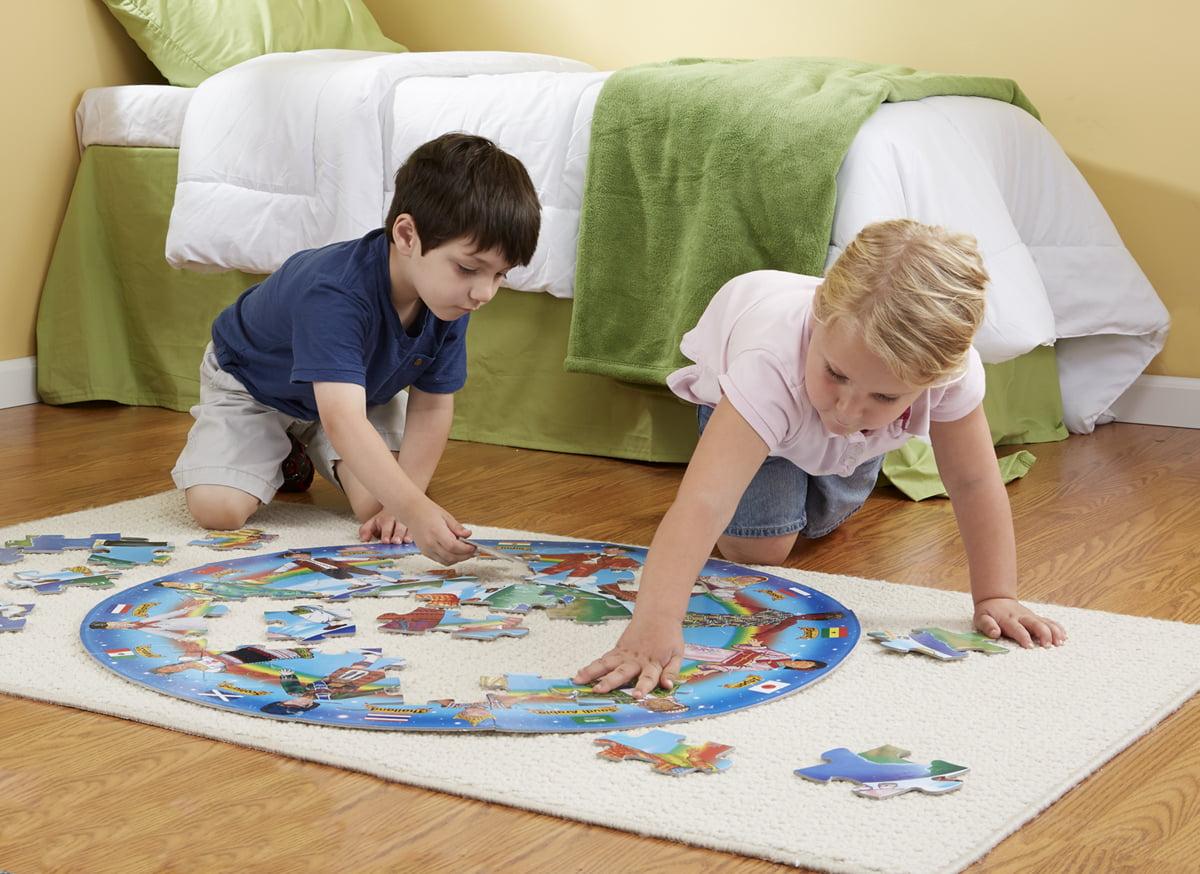 Children of the World 48PC Melissa & Doug Jigsaw Puzzle