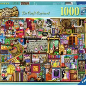 Colin Thompson - Curious Cupbards No 2 - The Craft Cupboard 1000 Piece Puzzle