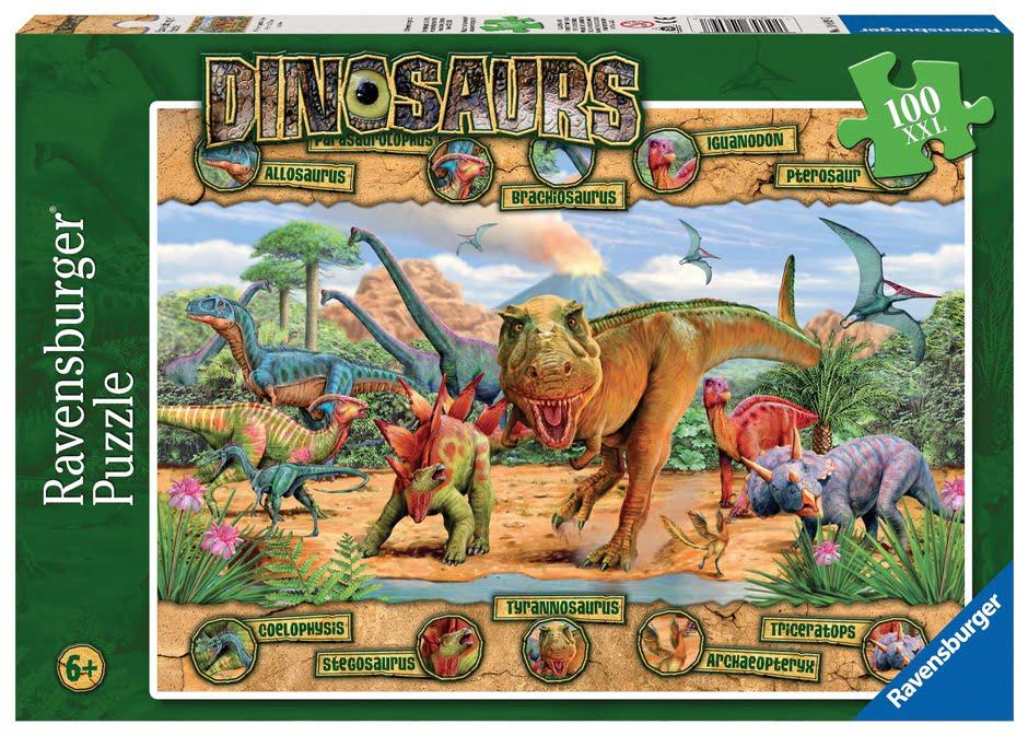 Dinosaurs 100PC XXL Ravensburger Jigsaw Puzzle