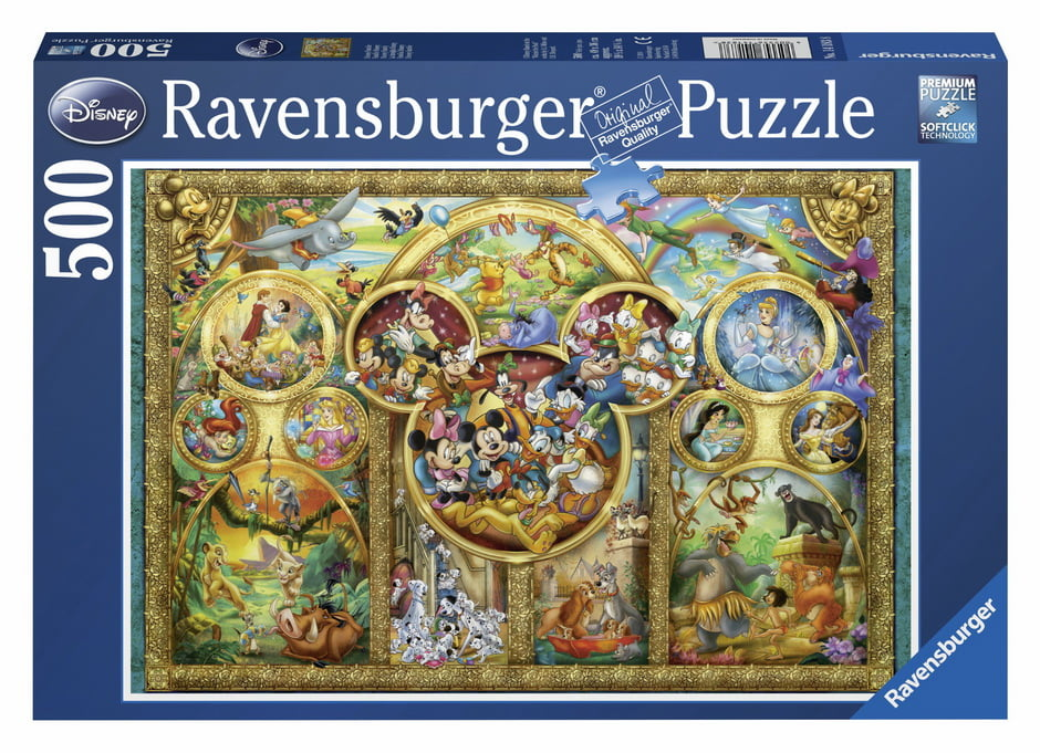 Disney family 500pc Ravensburger Jigsaw Puzzle