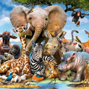 Favourite Wild Animal 300 XXL PC Jigsaw Puzzle