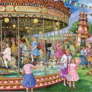 Gallopers 1000 PC Jigsaw Puzzle