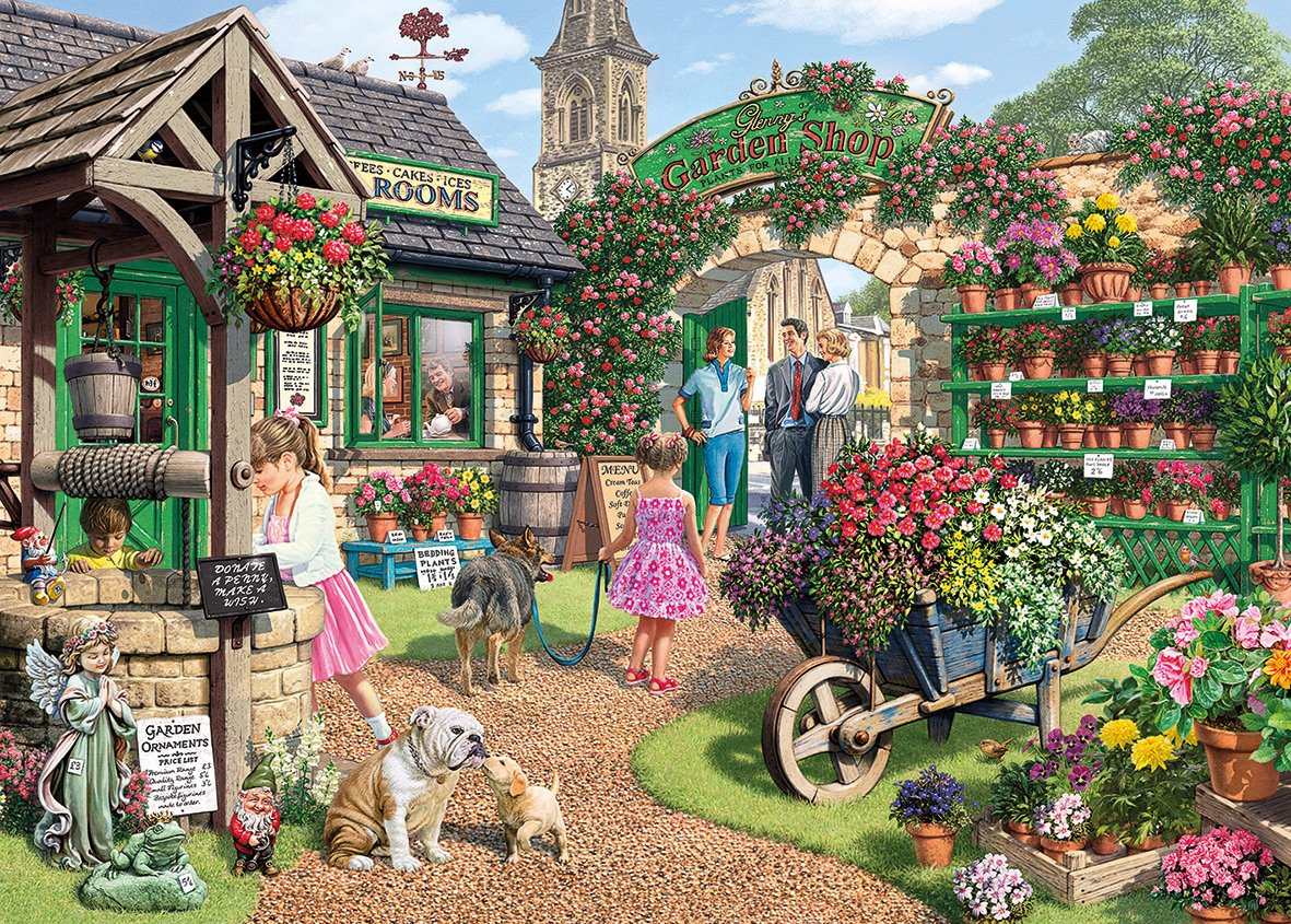 Awe Inspiring Glennys Garden Shop 1000 Pc Jigsaw Puzzle Download Free Architecture Designs Intelgarnamadebymaigaardcom